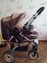 Продаётся Детская коляска шоколадного цвета