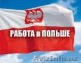 Работа в Польше для Узбекистанцев