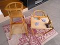 детский деревянный раскладной стульчик 1-шт