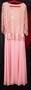 Продам нежное розовое вечернее платье